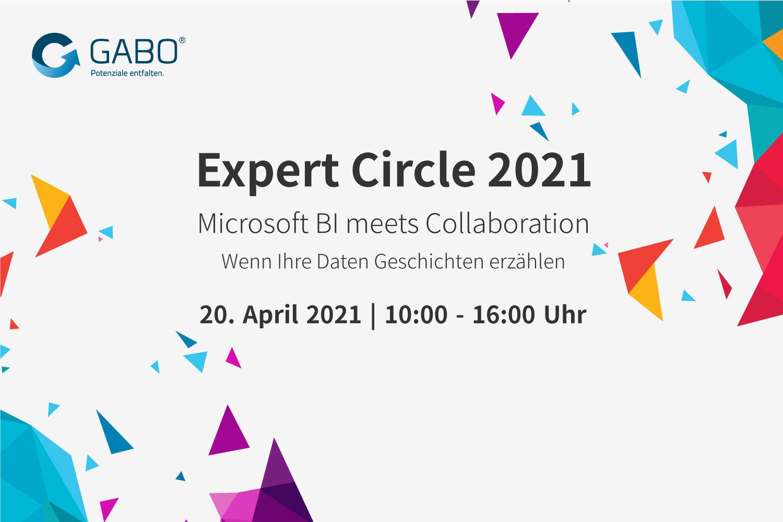 Expert Circle 2021 - Microsoft BI meets Collaboration